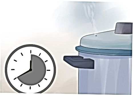 Konzerviranje graha s tlačnim kantom po metodi surovega paketa