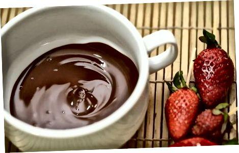 Hindiston yong'og'i suti shokoladli Ganache