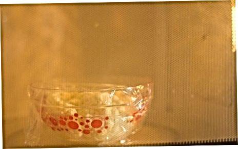 Rask og enkel mikrobølgeovnmos blomkål