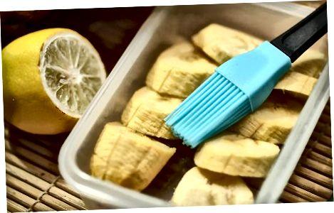 Консервація очищених бананів