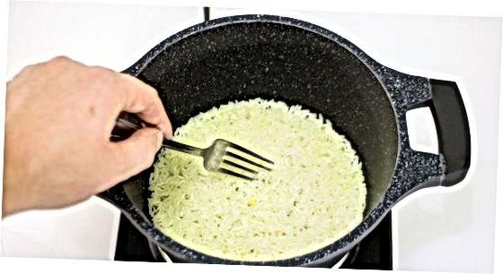 სამზარეულო სეზონური თეთრი ბრინჯი