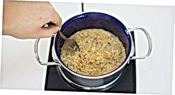 არომატული ყავისფერი ბრინჯის მომზადება