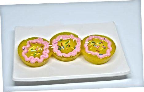 Izdelava roza šampanjca Jello Shot Cupcakes