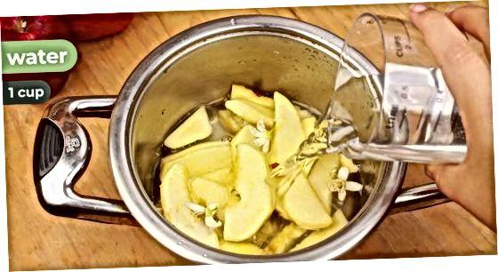 ვაშლის და თაფლი კარაქი