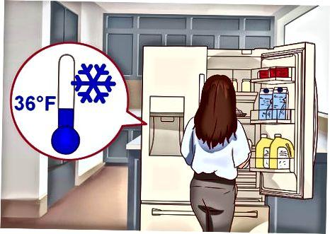 드라이 에이징을위한 냉동실 준비