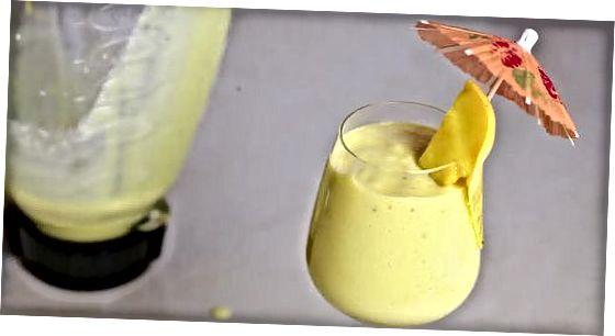 Banana in Mango Shake