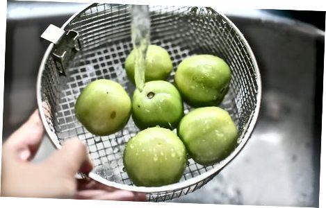 עגבניות ירוקות מטוגנות קלאסיות
