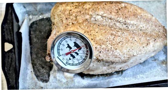 Comprovació de la temperatura del menjar