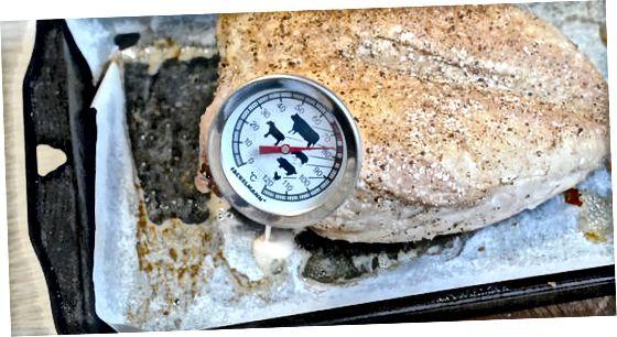 Cuina de carn a la temperatura adequada