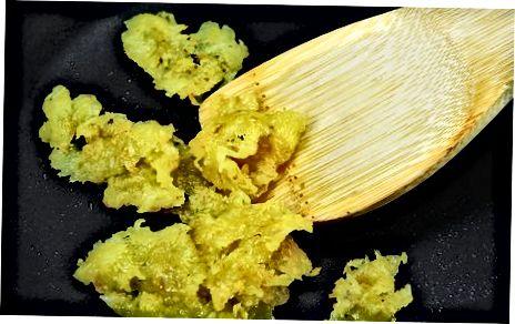 Elaboració de patates marrons cruixents