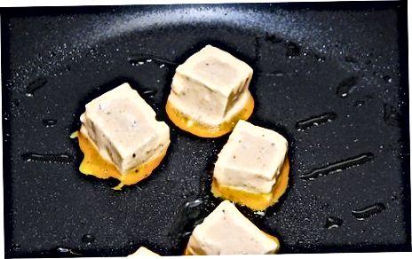 Tofu- ს შემწვარი
