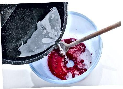 Izdelava sladkornega sirupa Kool-Aid