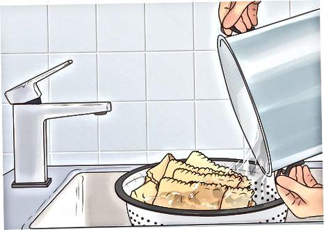Висушування і охолодження локшини лазаньї