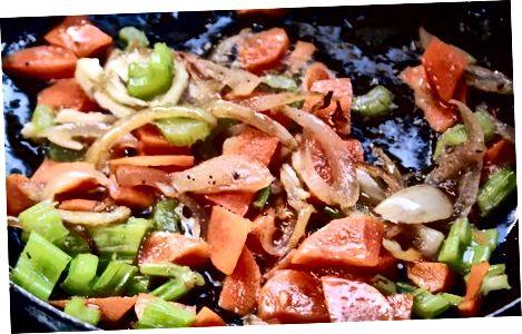 Сухарі з духовкою з овочами