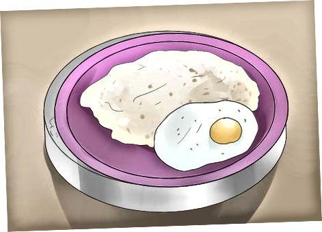 روش سوم: تخم مرغ های پودر مایکروویو