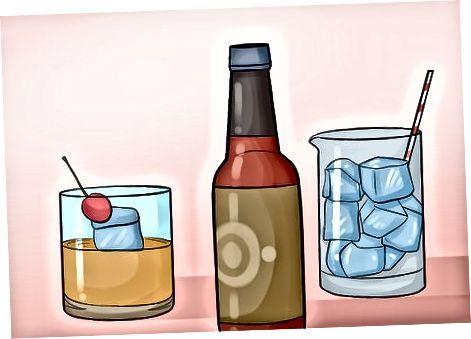 Bevorratung von Getränken und Glaswaren