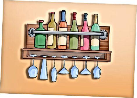 Organisieren und Speichern Ihrer Barartikel