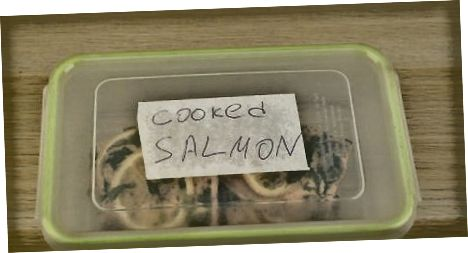 Хлађење куваног лососа