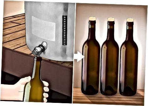 Vyno išpilstymas