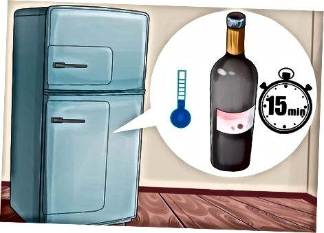 Veini jahutamine sügavkülmas või külmkapis
