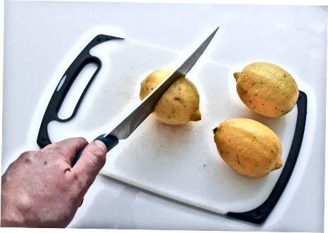 Limon-zanjabil suvini tayyorlash