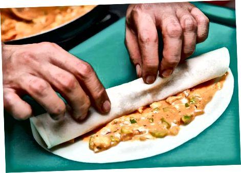 Achchiq tovuq Enchiladas