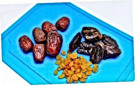 Verwenden und Essen von Jujuben