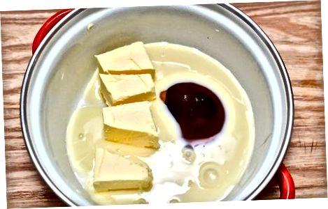 Naredite karamelni sloj