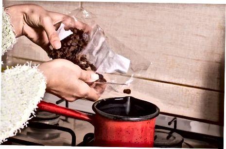 Trečias metodas: virdulio naudojimas