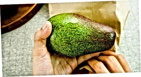 Чување незрелог авокада