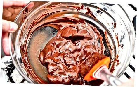 Pripravite čokoladni sloj