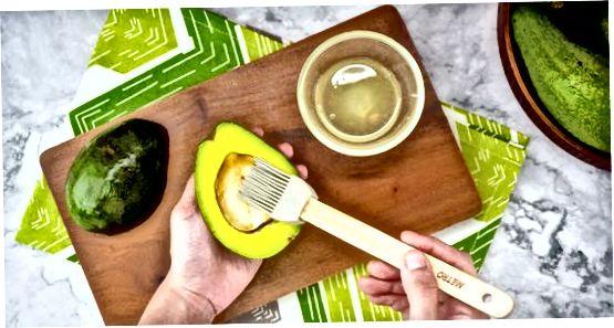 Паковање исеченог авокада