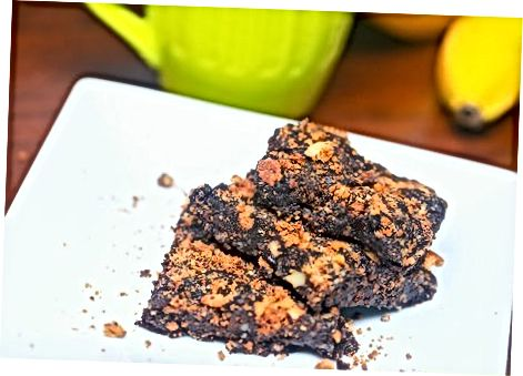 Chocolate Chip Cookie Barer ved bruk av butikk-kjøpte informasjonskapsler