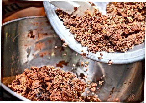 Veganske No-Bake Double Chocolate Chip Cookies