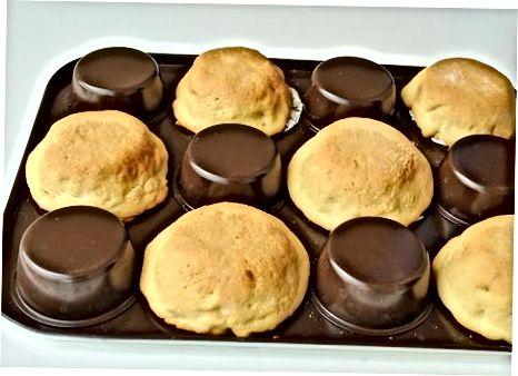 Muffin qalayining orqa qismini ishlatish