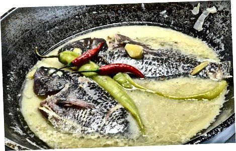 Кување тилапије