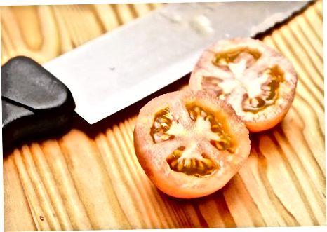 Pomidorlarni tayyorlash