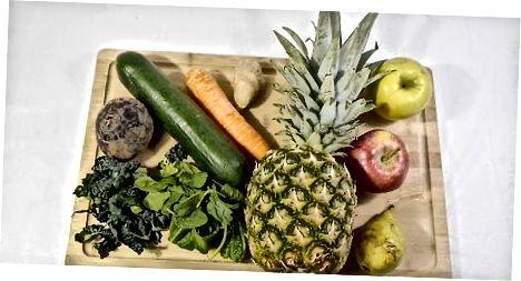 Velge frukt og grønnsaker