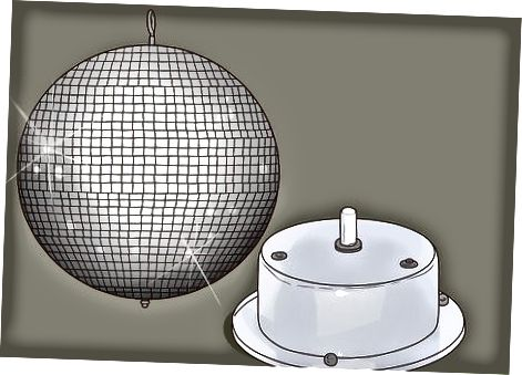 Tenner en Disco-ball