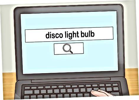Sử dụng bóng đèn sàn nhảy