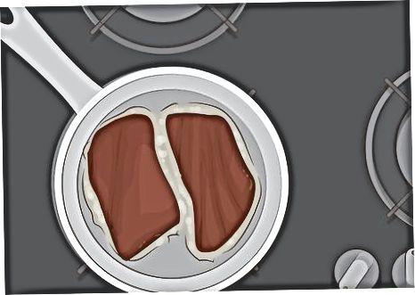 Mose biftekini pishirish