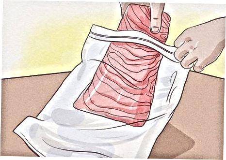 Ruajtja e Salmonit të tymosur