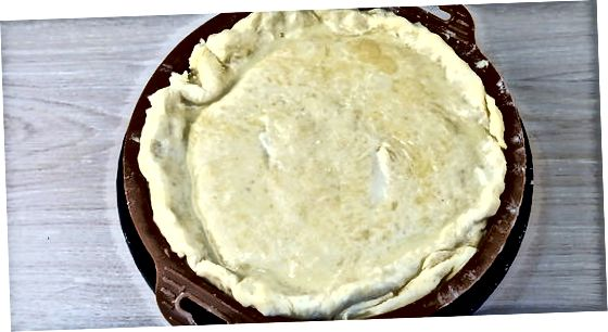 Puodo pyrago surinkimas ir kepimas