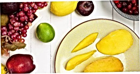 Obst im Kühlschrank auftauen