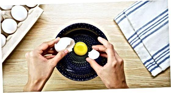 Prantsuse stiilis rullitud omleti valmistamine