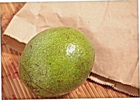 Сазревање необрезаног авокада