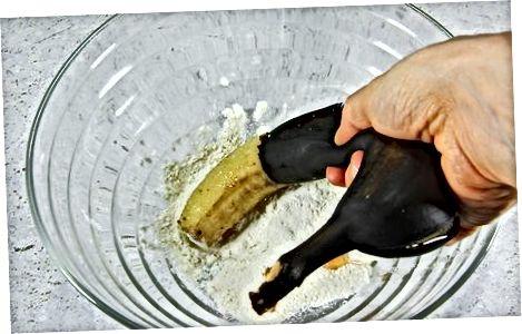 Marrja e bananeve të tepërt në furrë