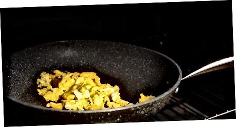 Ruajtja e nxehtësisë në vezët e gatuara