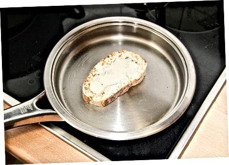 पिघला हुआ-पनीर Croutons बनाना