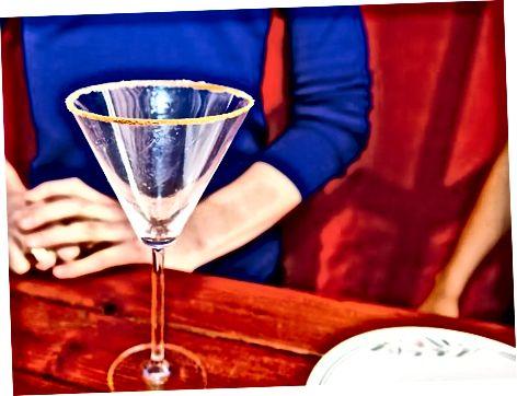 Martini oynasini tayyorlash